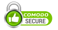 Site is secured by Comodo SSL