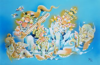 Ye-Win-Aung-The-Guardian-(3)-(2015)-24x36-Acrylic-and-Spray-on-Canvas_102323