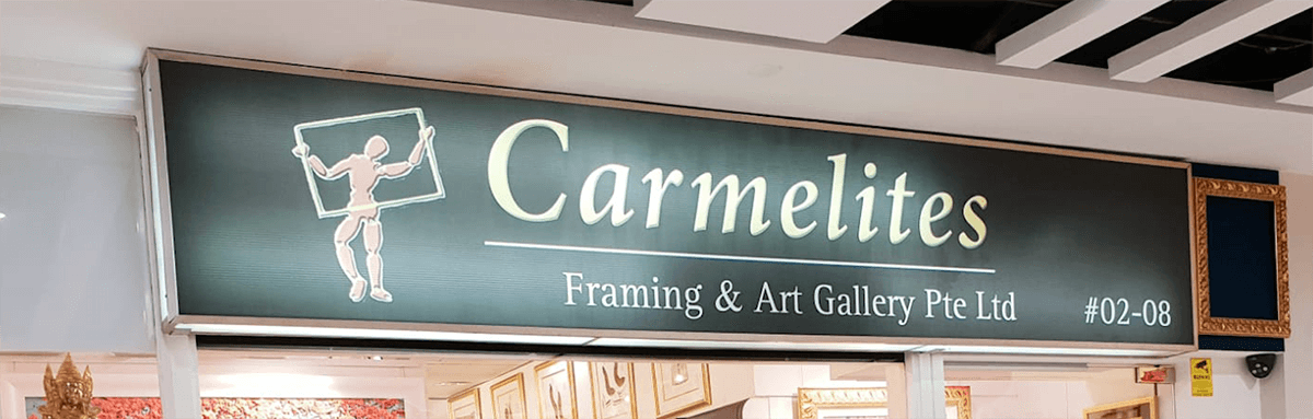 Carmelites Framing Shop in Bukit Timah