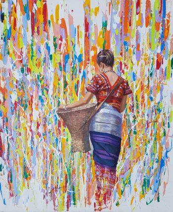 Mon-Thet-Chin-Lady-(2)-(2016)-47x56-Acrylic